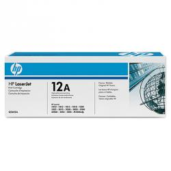 Тонер HP 12A BLACK LASERJET TONER CARTRIDGE - Q2612A